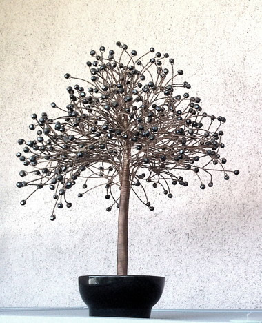 black crystal tree